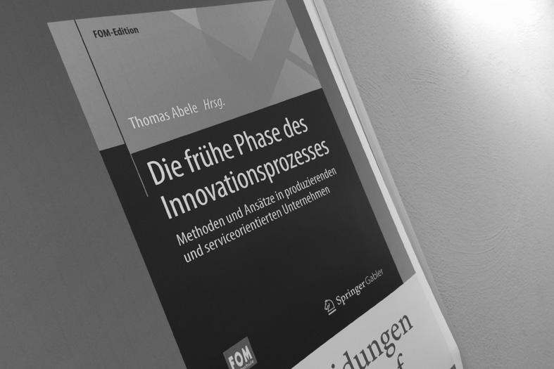 """08.2016 Neuerscheinung """"Die frühe Phase des Innovationsprozesses"""""""