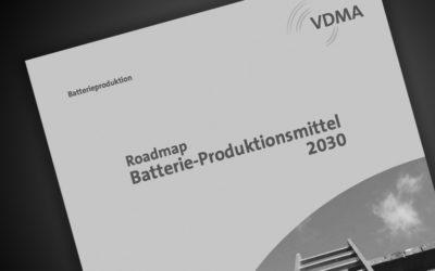 VDMA Roadmap Batterie-Produktionsmittel 2030