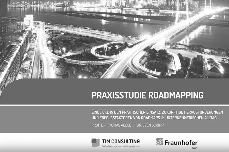 """02.2016 """"Praxisstudie Roadmapping"""""""